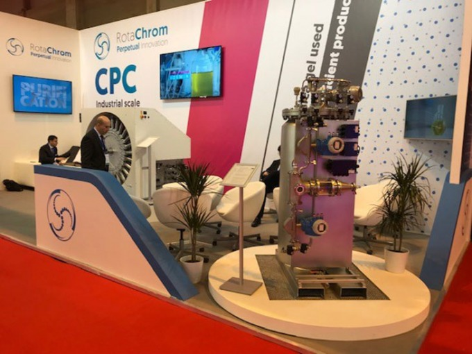 CPhI Worldwide in Madrid - RotaChrom booth