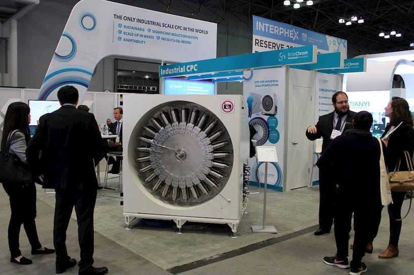 RotaChrom exhibition - Interphex
